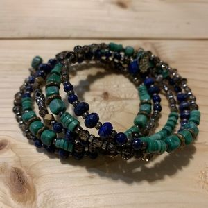 Silpada wrapped patina bracelet